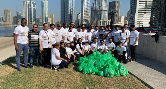 SUC Organizes a Clean-up Drive for Nelson Mandela International Day