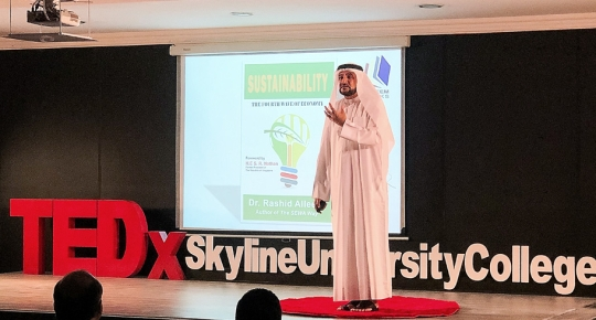 Skyline University College Hosted Its First TEDx Conference