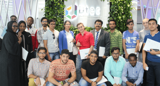 Industry Visit to Dubai Technology Entrepreneurship Center (DTEC)