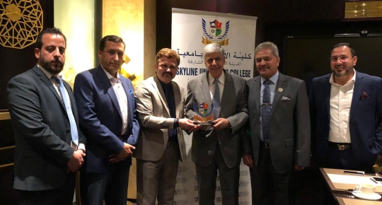 Skyline Signs an MOU with Jordanian Business Council