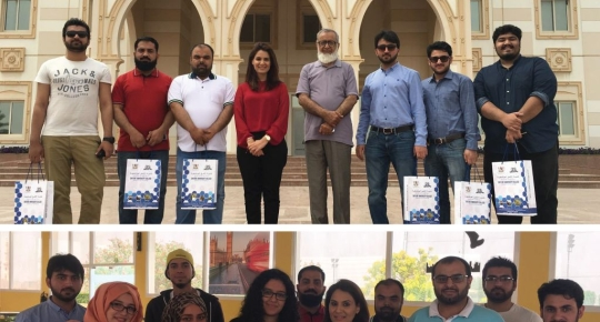 FES Higher Education Consultants Pakistan visited Skyline University