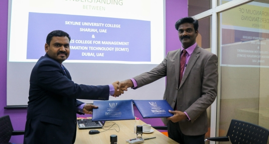 SUC Signs MOU with ECMIT