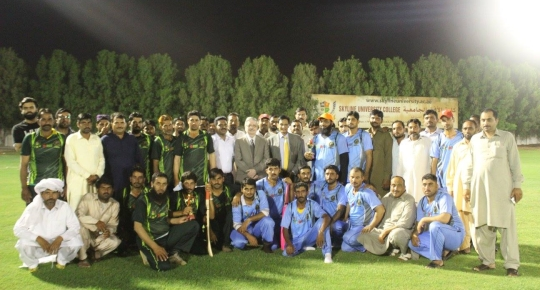 Iftar and Cricket Match for Sharjah Laborers