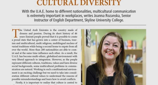 SUC in Media - Forbes Magazine; Dr. Joana