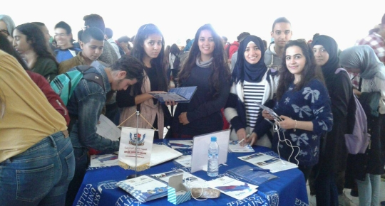ducational Exhibitions of SUC in Casablanca, Morocco