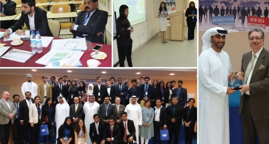 "Business Plan and New Idea Competition"" brings UAE and Oman students"