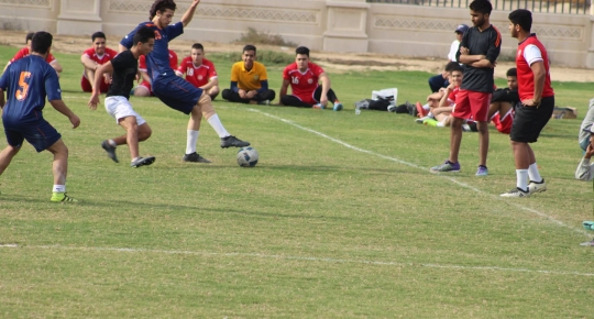 Football Tournament organized by Sharjah Education Zone
