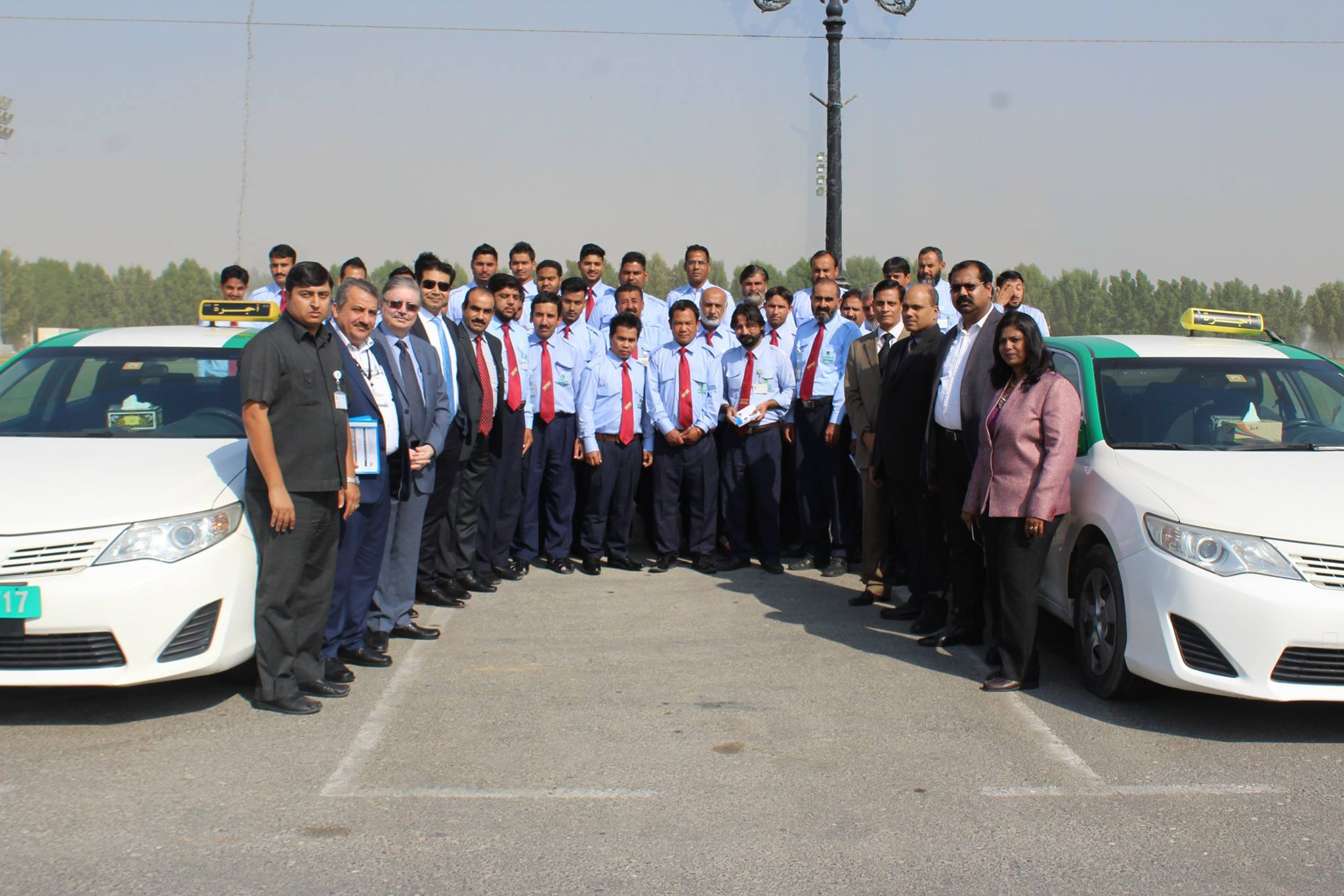 Sharjah Taxi Training