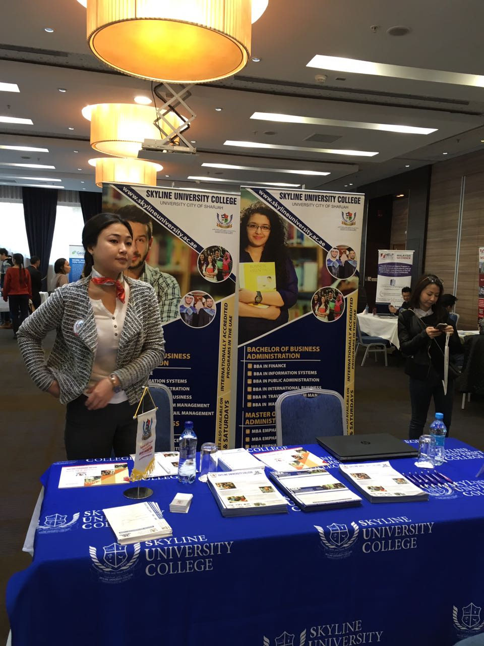 Education Exhibition in Kyrgyzstan