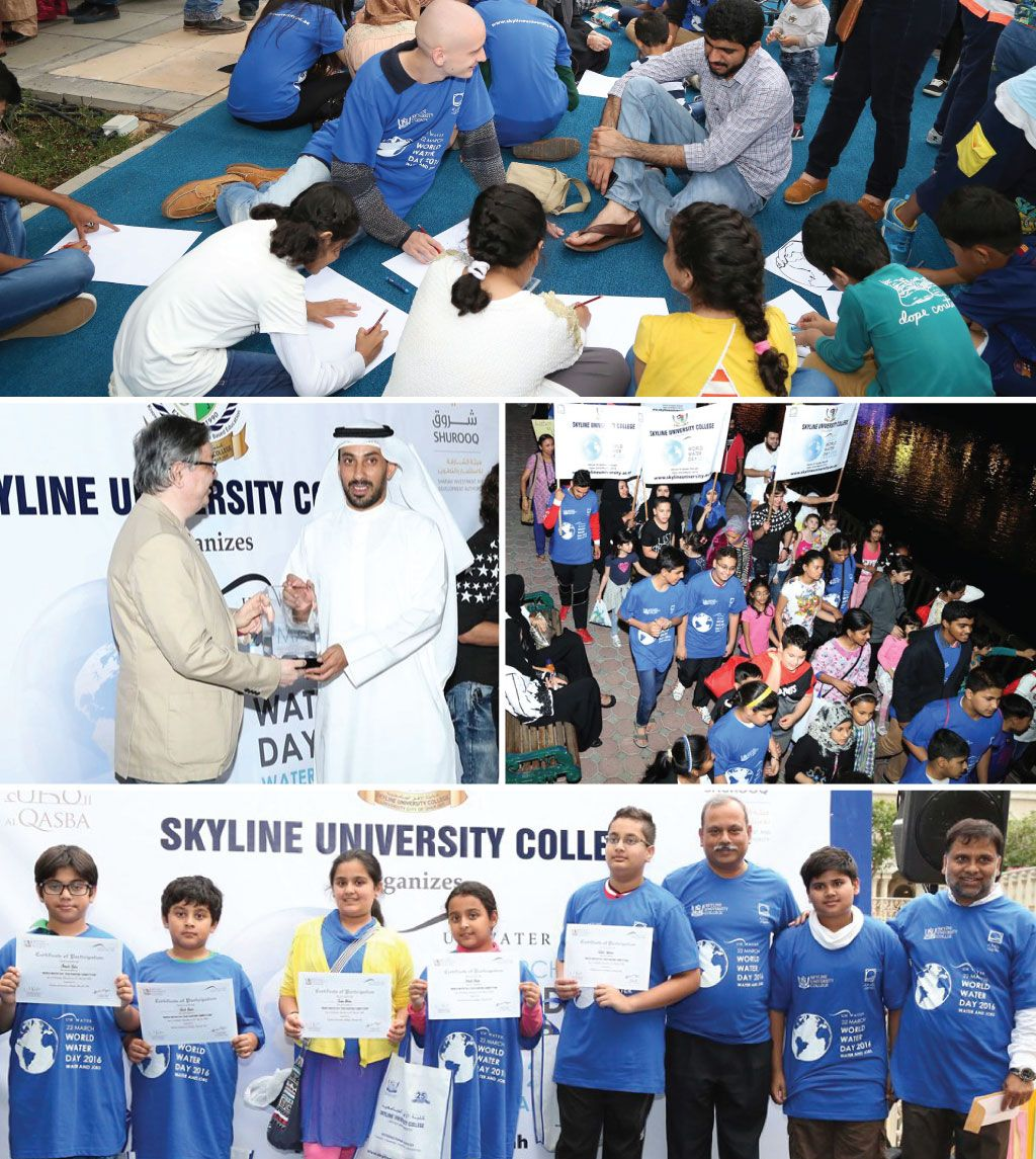 Skyline Celebrates World Water Day