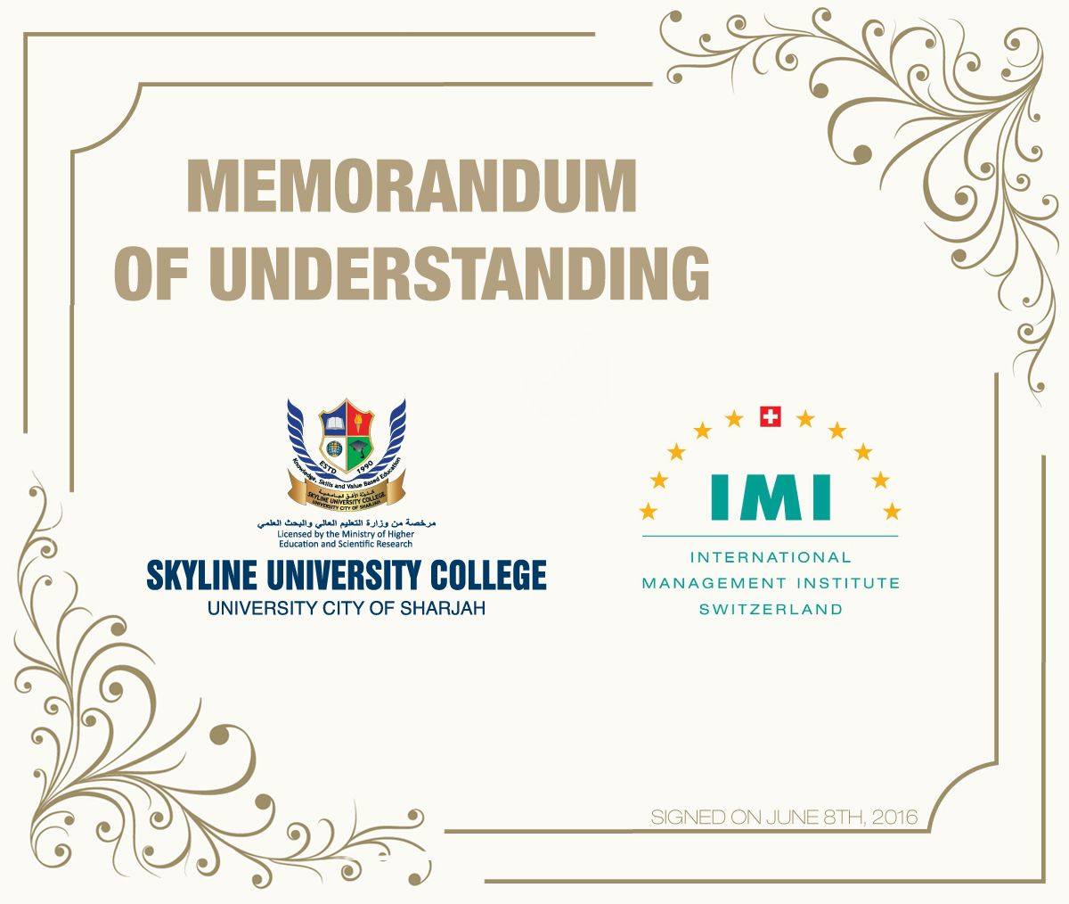 Suc signed an mou with international management institute skyline suc signed an mou with international management institute spiritdancerdesigns Image collections