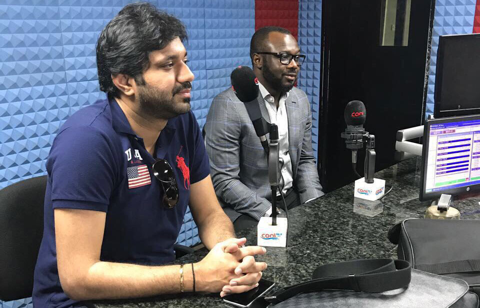 Cool FM 96.9 Abuja, Nigeria interviewed Mr. Nitin Anand of SUC