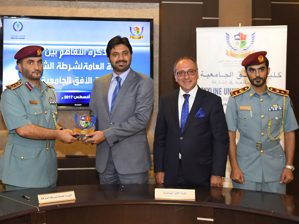 MOU signed with Sharjah Police