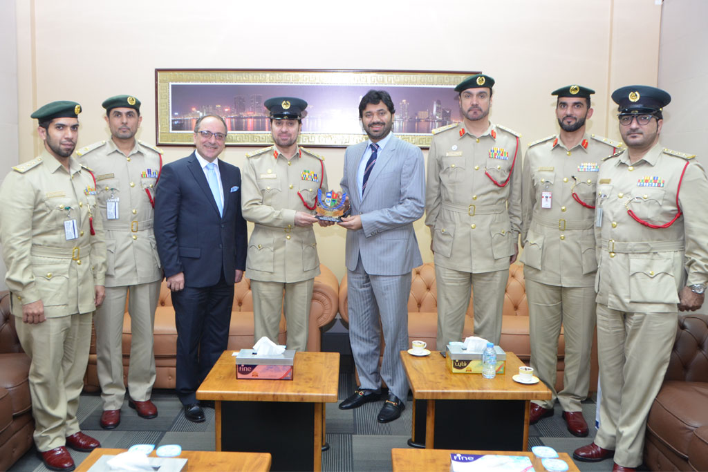 SUC Held Meeting with Dubai Police - General Department of Correctional Institutions
