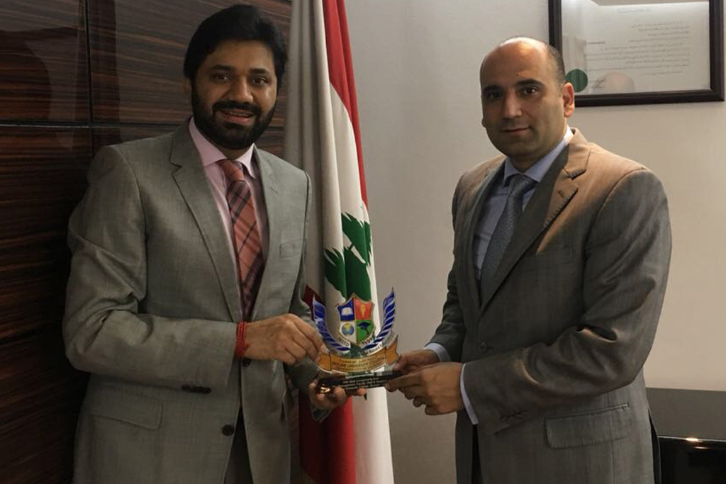 Meeting with Consul General of the Republic of Lebanon, H.E. Assaf Doumit
