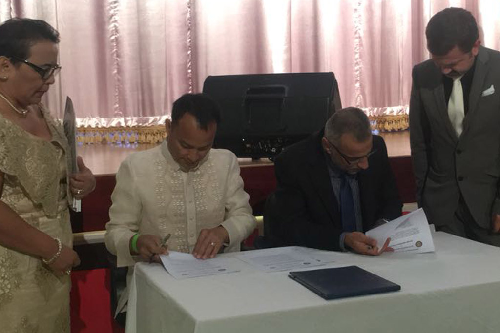 SUC Signed MoU with Leyte Normal University, Philippines