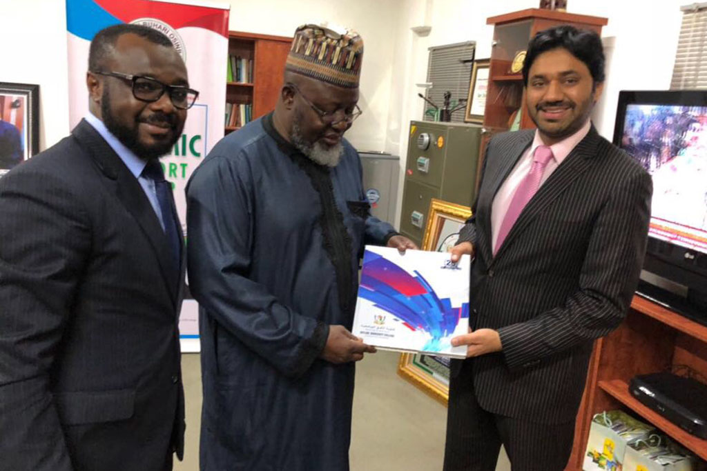 COEC Strategic Visit to Nigeria and Coffee Table Book Presentation