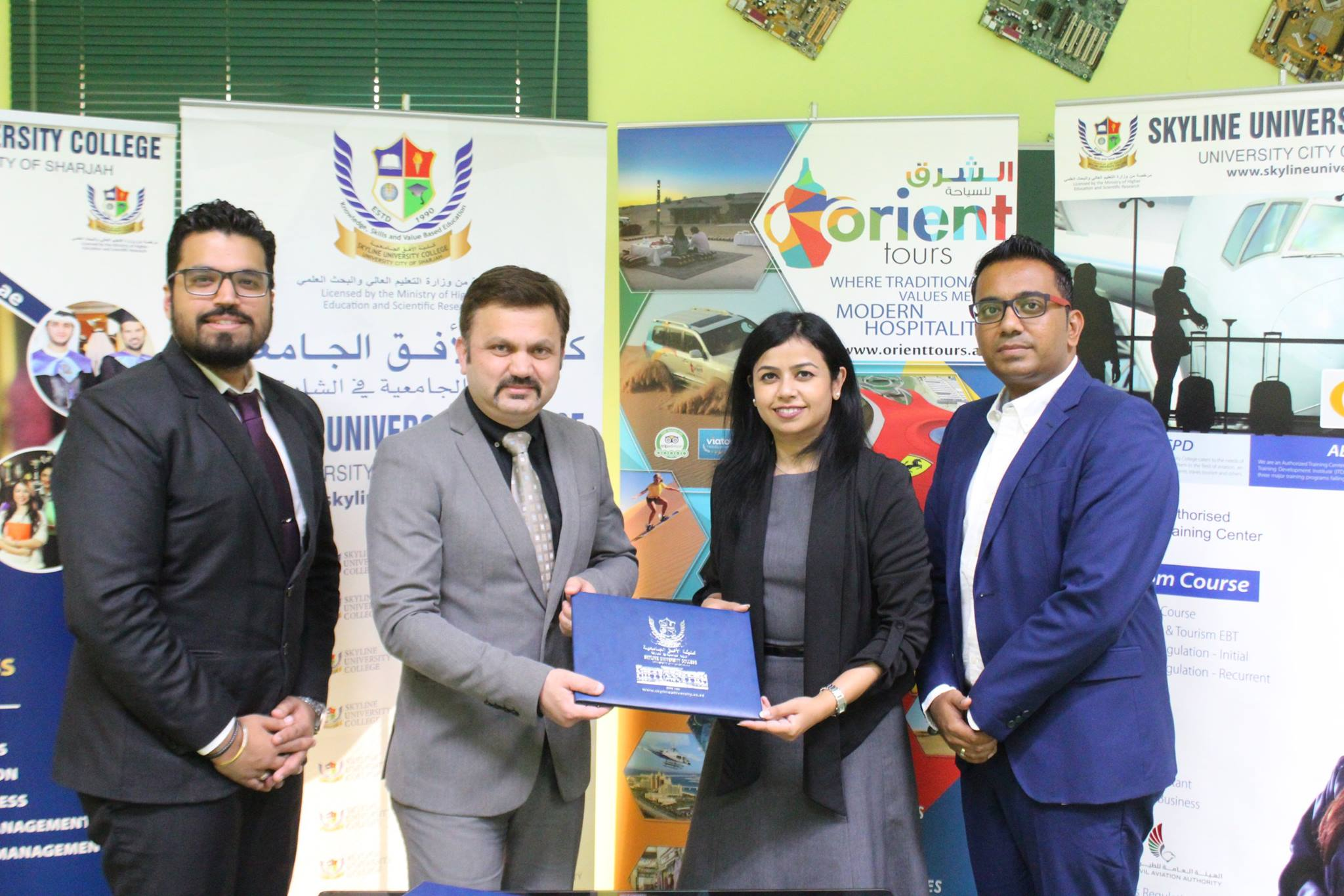 MOU signed with Orient Tours LLC