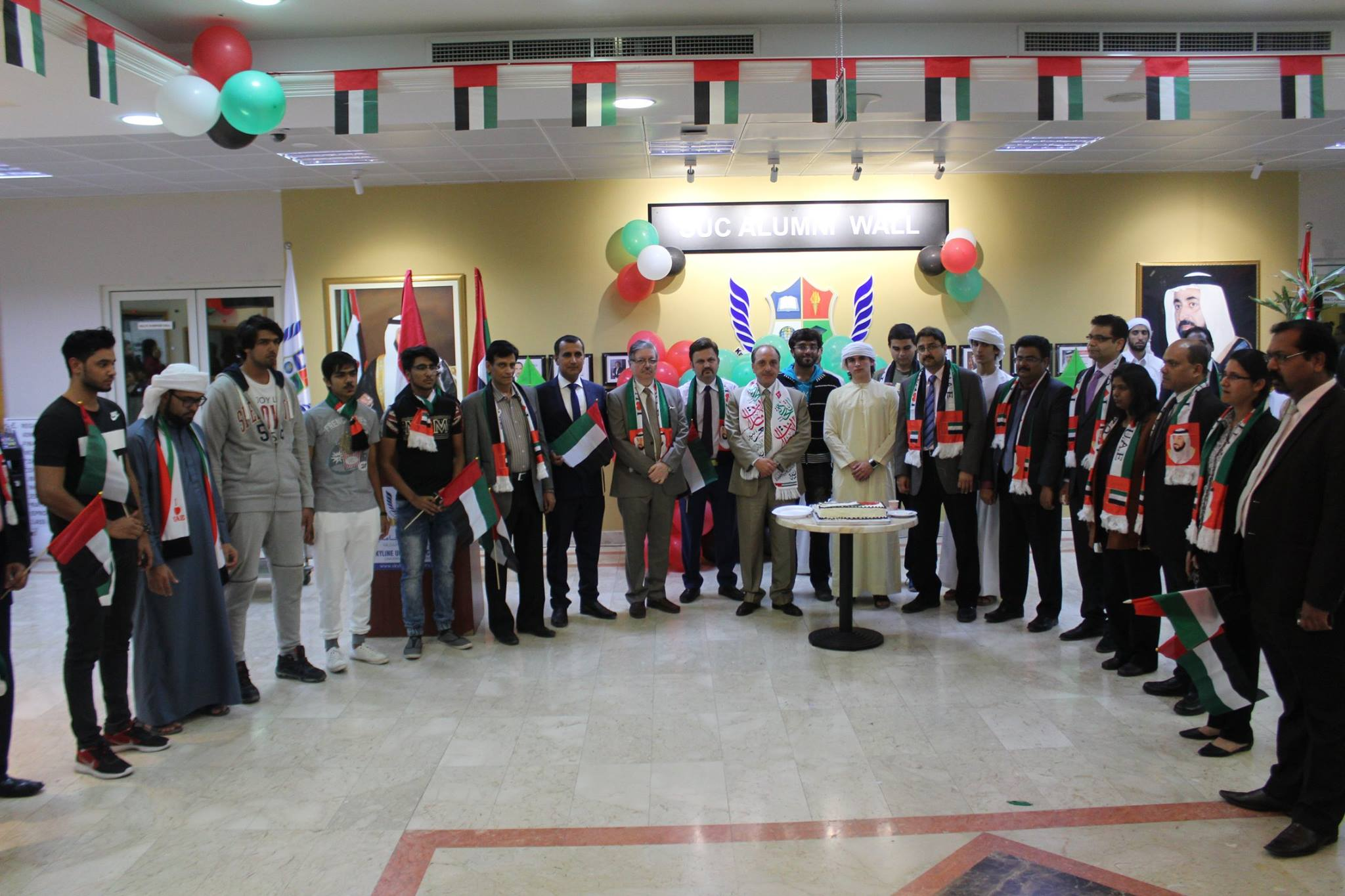 SUC celebrated the 45th UAE National Day